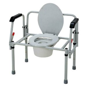 Merits bariatric commode chair