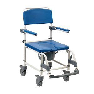 Drive Aston mobile commode chair