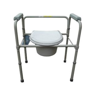 Merits folding shower commode chair