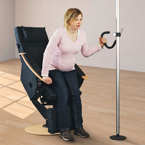 Verticle support pole for your home