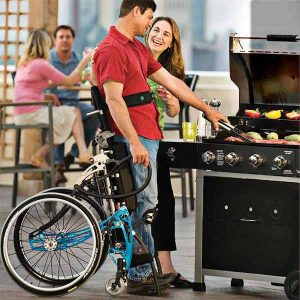 Lifestand Helium lsa standing wheelchair