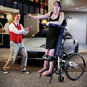 Lifestand LSR standing wheelchair