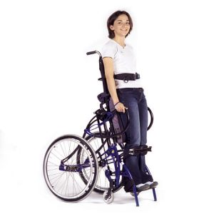 Lifestand ls manual standup wheelchair