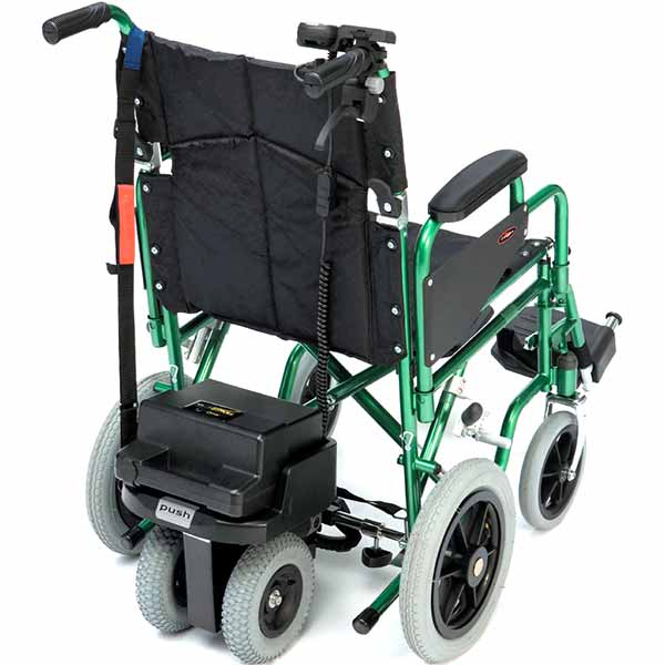 S-Drive Powerstroll power assistance for your manual wheelchair