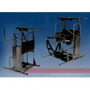 Stand Aid 1600 is a manual and hydraulic standing lift aid