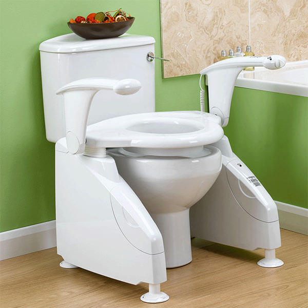 Battery operated toilet lift from Drive Medical