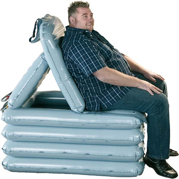 Bariatric emergency lifting cushion