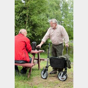 Topro Olympus rollator ideal for outdoors and rough terrain surfaces