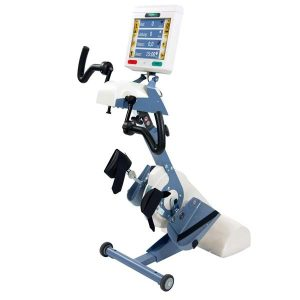 "THERA Tigo 538 cycling trainer for upperbody and legs. Equipped with a 10.4"" colour screen."
