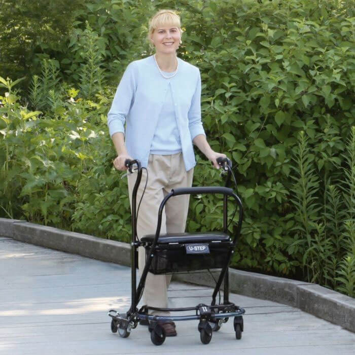 A walker designed for people with Parkinsons